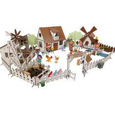 Акция на Сельский домик FANA для кукол LOL с мебелью, Фермой и Мельницей (2204) от Allo UA
