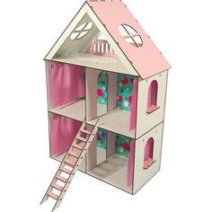 Акция на Кукольный домик FANA для кукол LOL LITTLE FUN maxi (2106) от Allo UA