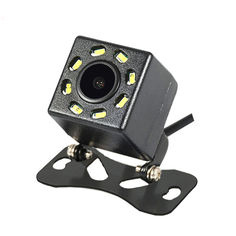 Акция на Автомобильная камера заднего вида Lesko JF-018 универсальная с светодиодной подсветкой 8 LED для авто от Allo UA