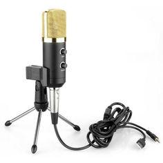 Акция на Конденсаторный микрофон ZEEPIN MK-F100TL BLACK GOLD от Allo UA