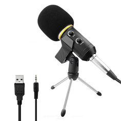 Акция на Конденсаторный микрофон ZEEPIN MK-F200TL BLACK SILVER от Allo UA