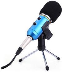 Акция на Конденсаторный микрофон ZEEPIN MK-F200TL BLUE SILVER от Allo UA