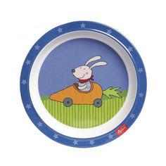 Тарелка sigikid Racing Rabbit (24614SK) от Allo UA