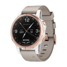 Garmin D2 DELTA S AVIATOR WATCH WITH BEIGE LEATHER BAND (010-01987-31) от Allo UA