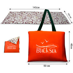 Туристический коврик - сумка Coverbag L коричневый от Allo UA