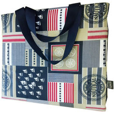 Туристический коврик - сумка трансформер Coverbag L морская от Allo UA