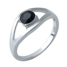 Акция на Кольцо из серебра с сапфиром, размер 18 (1634600) от Allo UA