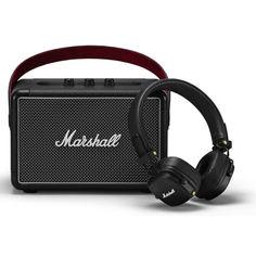 Marshall Summer Bundle (Акустика Kilburn II Black + Наушники Major III Bluetooth Black) от Allo UA