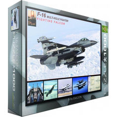 Акция на Пазл Eurographics F-16 в полете, 1000 элементов (6000-4956) от Allo UA