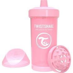 Акция на Детская чашка Twistshake 360мл 12+мес светло-розовая 78279 от Allo UA