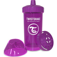 Акция на Детская чашка Twistshake 360мл 12+мес фиолетовая 78072 от Allo UA