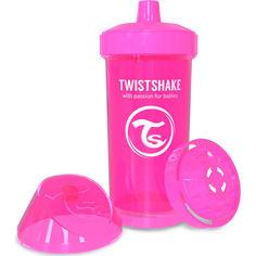 Акция на Детская чашка Twistshake 360мл 12+мес розовая 78068 от Allo UA