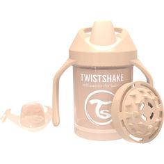 Акция на Мини чашка с ручками Twistshake 230мл 4+мес бежевая 78271 от Allo UA