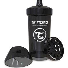 Акция на Детская чашка Twistshake 360мл 12+мес черная 78077 от Allo UA