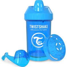 Акция на Чашка-непроливайка Twistshake 300мл 8+мес голубая 78059 от Allo UA