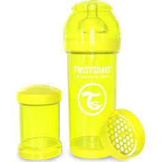Акция на Антиколиковая бутылочка Twistshake 260мл желтая 78040 от Allo UA