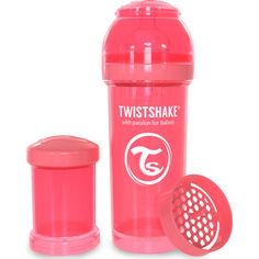 Акция на Антиколиковая бутылочка Twistshake 260мл персиковая 78032 от Allo UA