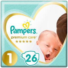 Акция на Подгузники Pampers Premium Care размер 1, 2-5 кг, 26 шт. (8001841104614) от Allo UA