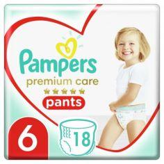 Акция на Подгузники-трусики Pampers Premium Care Pants размер 6 (Extra large) 15+ кг, 18 шт. (8001090190543) от Allo UA