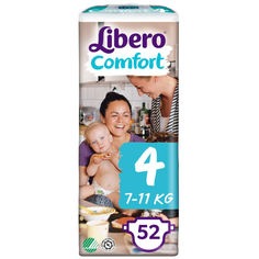 Акция на Подгузник детский Libero Comfort 4 (52) (7322541083674) от Allo UA