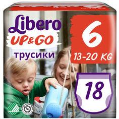 Акция на Подгузник детский Libero Up&Go 6 (18) (7322541090238) от Allo UA