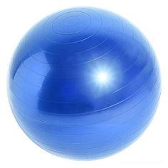 Акция на Фитбол мяч Dobetters Profi Blue 65 cm массажный + насос от Allo UA