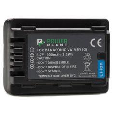 Акция на PowerPlant Panasonic VW-VBY100 900mAh DV00DV1387 от Allo UA