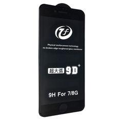 Акция на Защитное стекло DK 9D+ Full Glue для Apple iPhone 7 / 8 (black) от Allo UA
