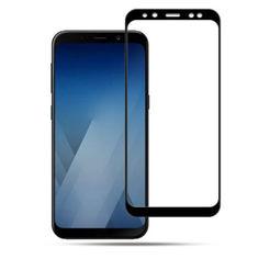 Акция на Защитное стекло DK Full Cover для Samsung A8 (black) от Allo UA