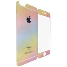 Акция на Защитное стекло DK-Case для Apple iPhone 5/5S pearl back/face (multicolored) от Allo UA