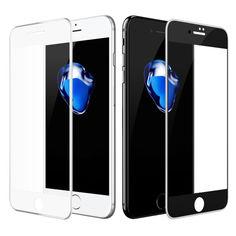 Акция на Защитное стекло DK Silicone Edge для Apple iPhone 6 Plus / 6S Plus (white) от Allo UA