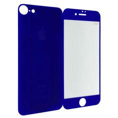 Акция на Защитное стекло for Apple iPhone 7 matt back/face dark blue от Allo UA