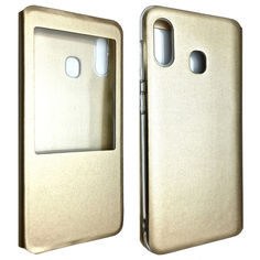 Акция на Чехол-книжка DK-Case силикон кожа для Samsung M20 (gold) от Allo UA