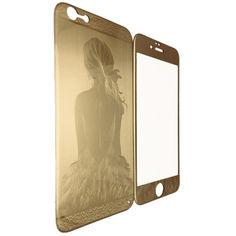 Акция на Защитное стекло Балерина for Apple iPhone 6/6S gold от Allo UA