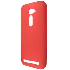 Акция на Накладка силикон ultra slim matting TPU для Asus Zen Fone 2 ZE500CL (red) от Allo UA