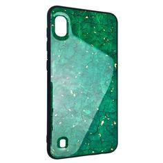 Акция на Чехол-накладка DK Silicone Form Resin Lava Gold для Samsung A10 (green) от Allo UA