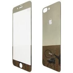 Акция на Защитное стекло for Apple iPhone 7 Plus зеркало back/face gold от Allo UA