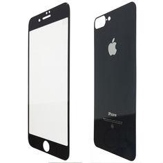 Акция на Защитное стекло for Apple iPhone 7 Plus зеркало back/face Jet Black от Allo UA