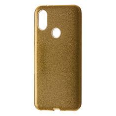 Акция на Чехол-накладка DK Silicone Glitter Heaven Rain для Xiaomi Mi A2 (Mi 6X) (gold) от Allo UA