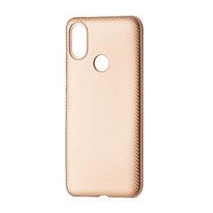Акция на Чехол-накладка DK-Case силикон Carbon для Xiaomi Mi A2 (Mi 6X) (rose gold) от Allo UA