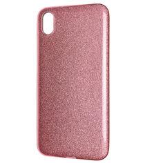 Акция на Чехол-накладка DK Silicone Glitter Heaven Rain для Xiaomi Redmi 7A (light pink) от Allo UA