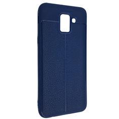 Акция на Чехол-накладка DK-Case силикон под кожу Autofocus TPU для Samsung A6 Plus (2018) (blue) от Allo UA