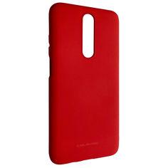 Акция на Чехол-накладка Silicone Hana Molan Cano для Xiaomi Redmi K30 / Poco X2 / Mi 10T (red) от Allo UA