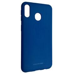 Акция на Чехол-накладка Silicone Hana Molan Cano для Samsung M20 (blue) от Allo UA