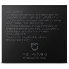 Акция на аккумулятор Mi Action Camera 4K Battery от Allo UA