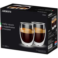 Набор чашек Ardesto 400 мл. 2 шт. (AR2640G) от Allo UA