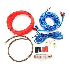 Акция на Комплект проводов для сабвуфера Lesko MDK MD-668 8GA от Allo UA