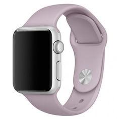 Акция на Силиконовый ремешок Sport Band для часов Apple Watch Lavender 40 мм (S/M и M/L) - Лаванда от Allo UA