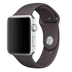 Акция на Силиконовый ремешок Sport Band для часов Apple Watch Cocoa 40 мм (S/M и M/L) - Какао от Allo UA