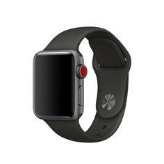 Акция на Силиконовый ремешок Sport Band для часов Apple Watch Grey 42 мм (S/M и M/L) - Серый от Allo UA